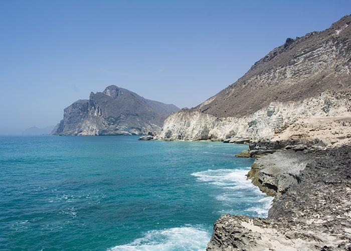 Оман, побережье Индийского океана
