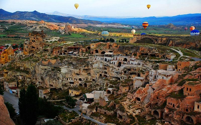 Пещерный город в Каппадокии