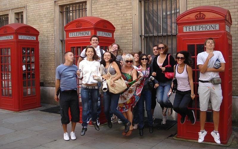 Изучение английского в лагере Великобритании
