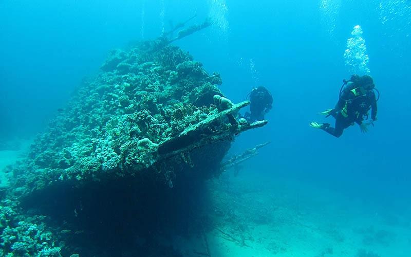 Затонувший корабль «Карнатик»