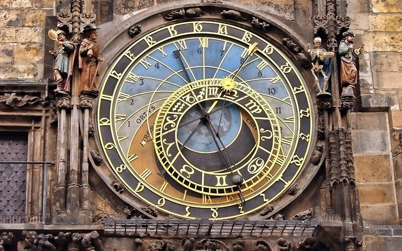 Прага, часы