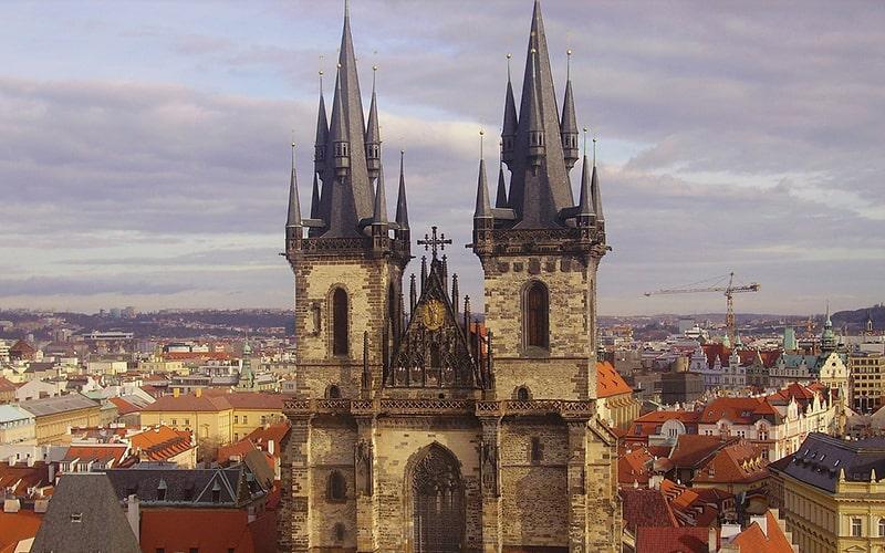Прага площадь