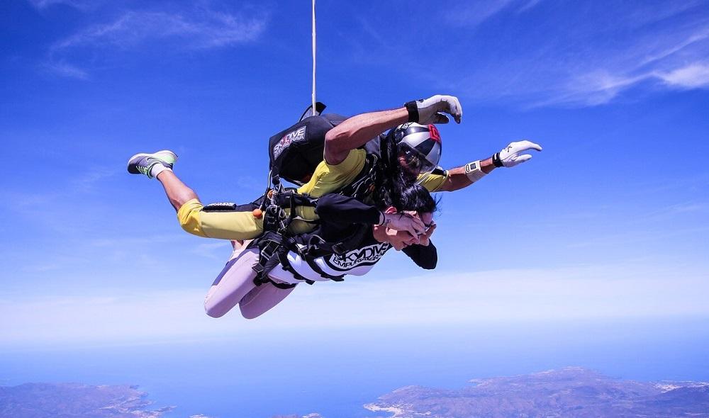 Прыжки с парашютом в Испании