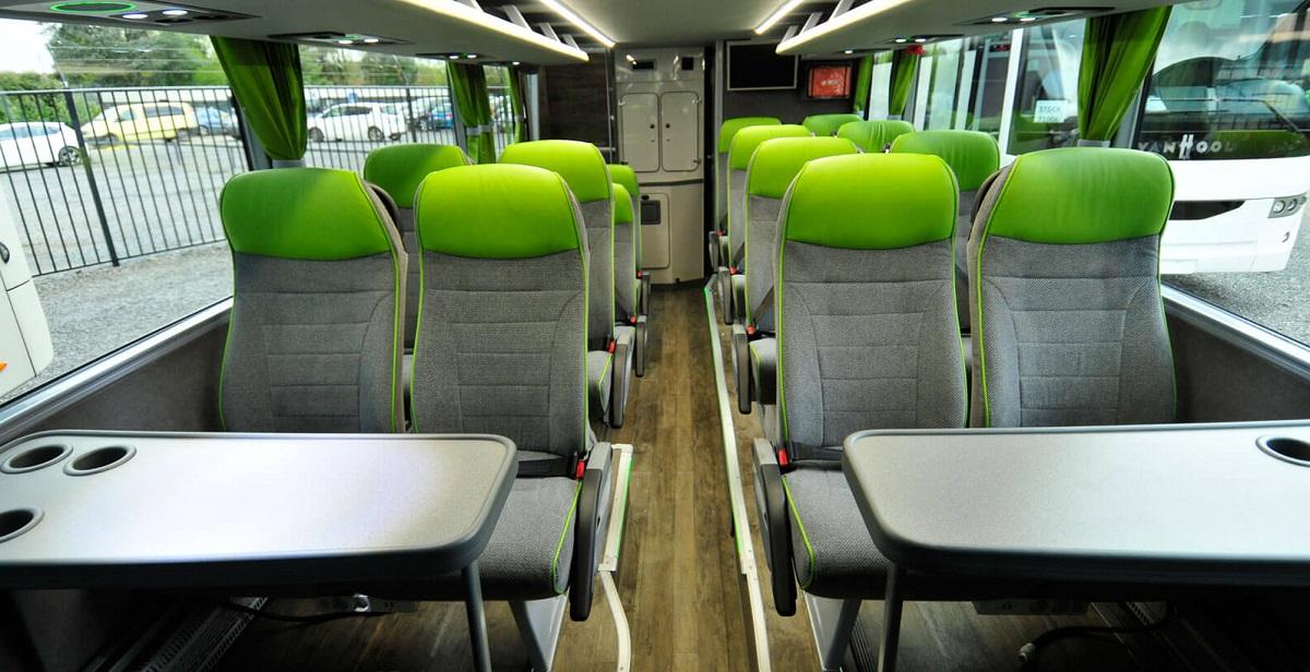 Какие автобусы будут перевозить пассажиров Фликсбас