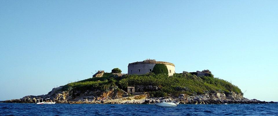 Острів-фортеця Мамула