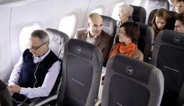 Lufthansa експериментує з посадкою на борт