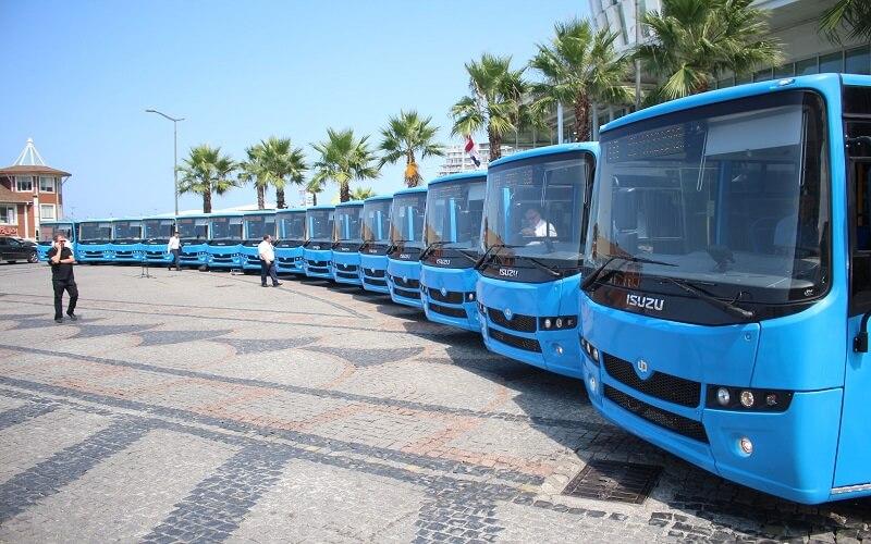 Автобусы Батуми