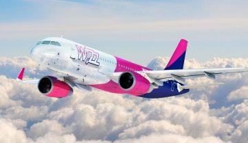 Лоукост Wizz Air анонсував нові рейси із Запоріжжя