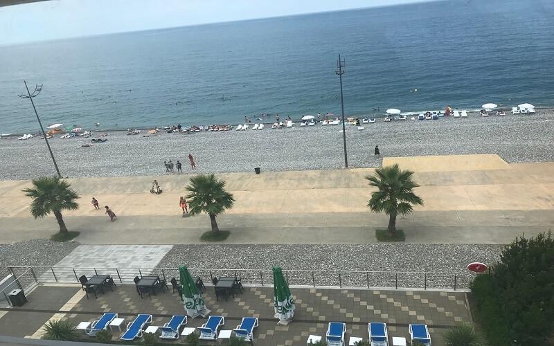 Пляж Гонио Батуми
