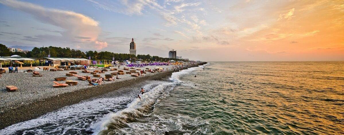 Пляжі Батумі