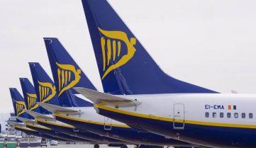 Ryanair запускает 20 новых рейсов из Украины