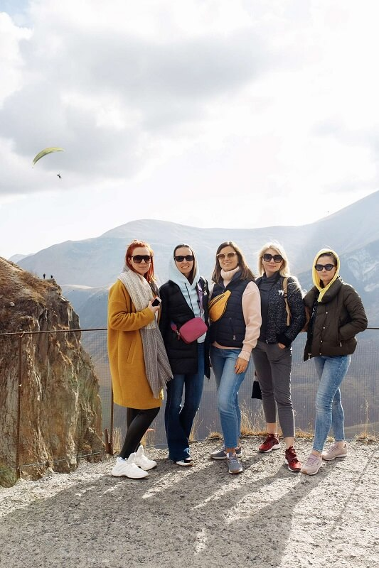 Участницы девичника Тбилиси