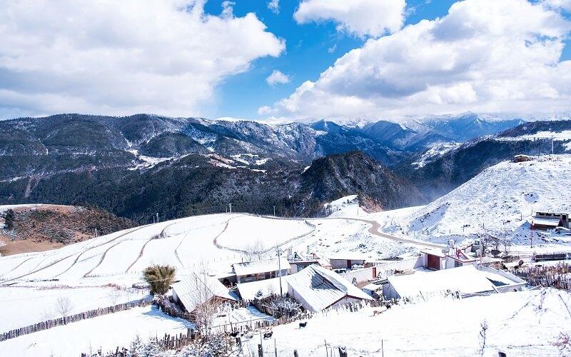 Китай зима