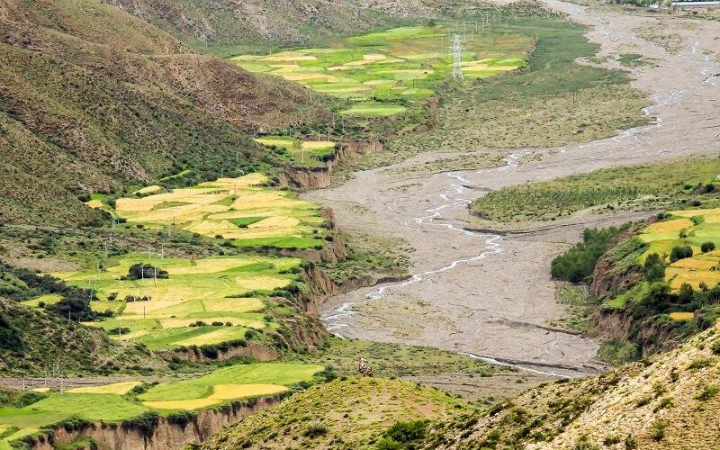 Тибет весна